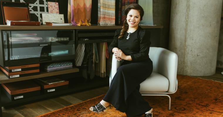 How this interior designer got her start