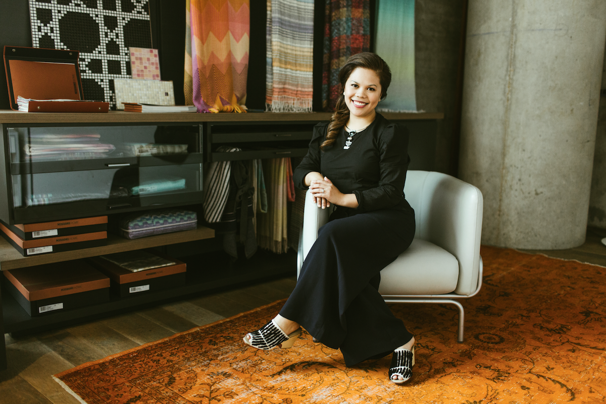 How this interior designer got her start