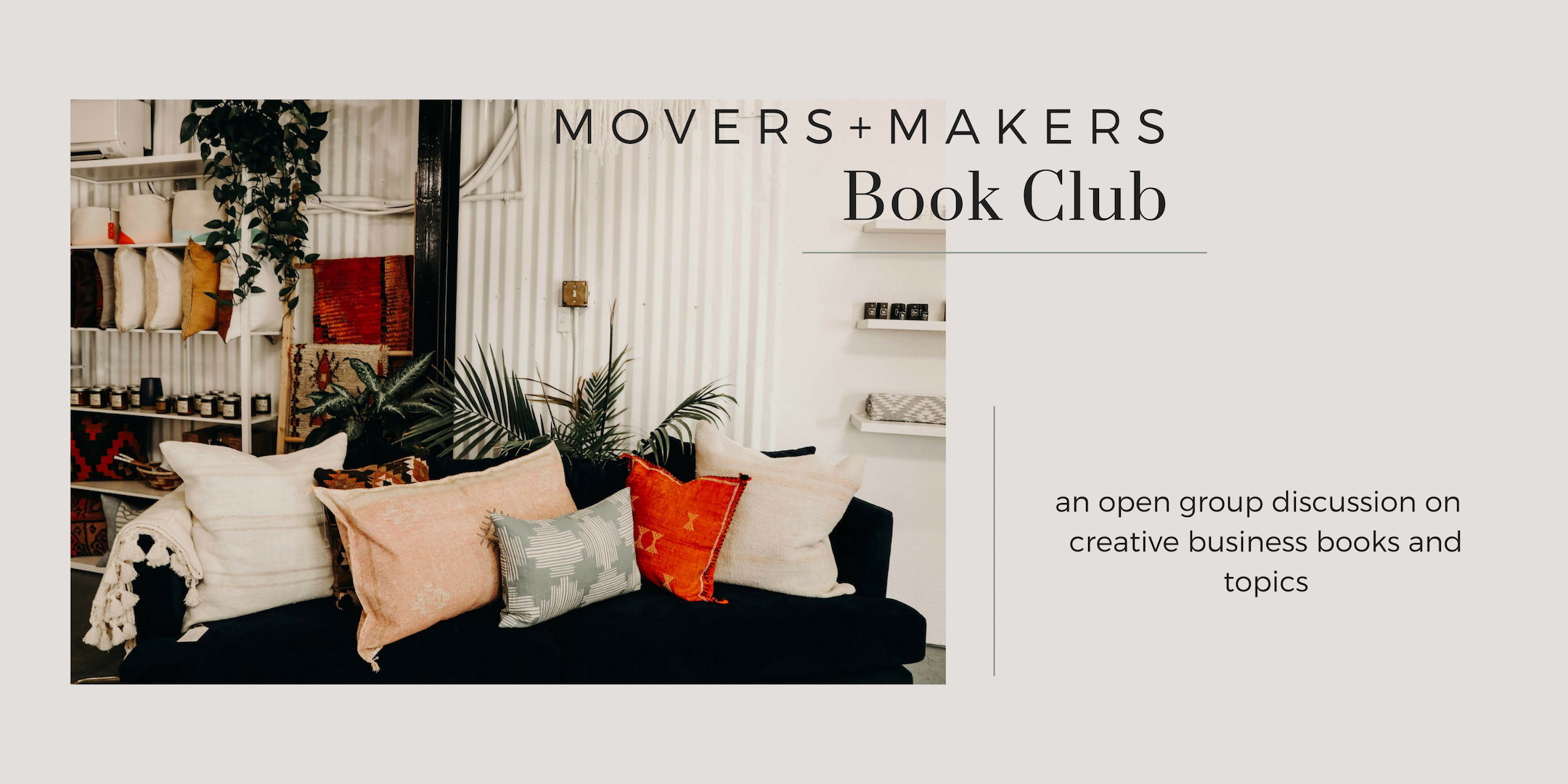 Movers + Makers book club